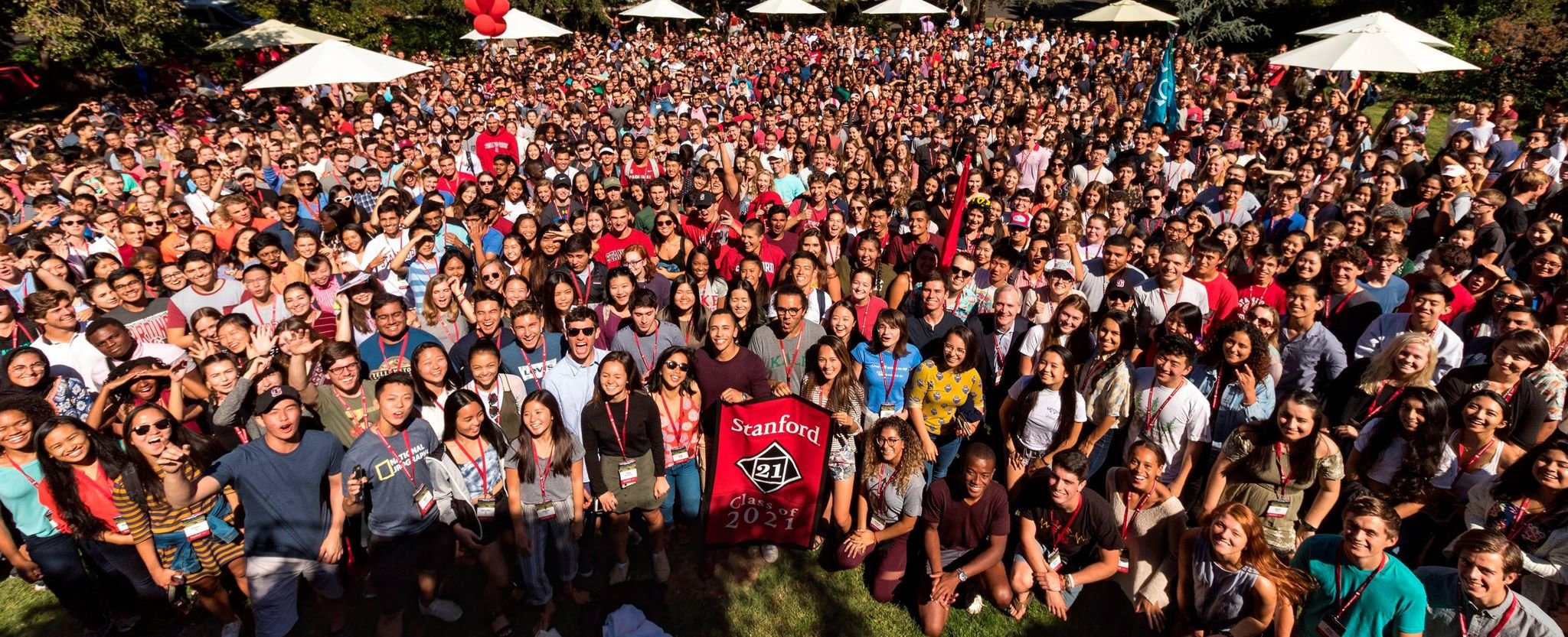 Stanford Class of 2021 group photo